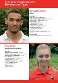 Leichtathletik U20-WM 2016: Das deutsche Team für Bydgoszcz - Seite 7