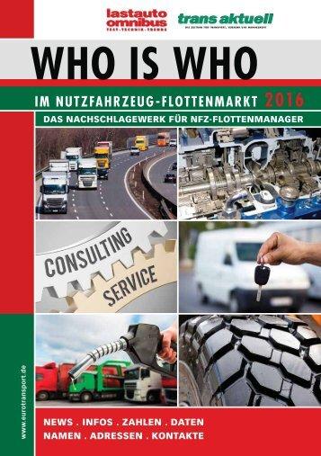 Who is Who im Nutzfahrzeug-Flottenmarkt