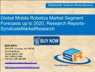 Mobile Robotics Market