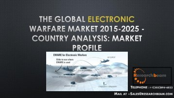 The Global Electronic Warfare Market 2015-2025 - Country Analysis Market Profile