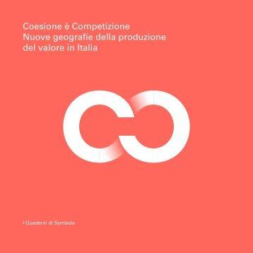Nuove geografie della produzione del valore in Italia