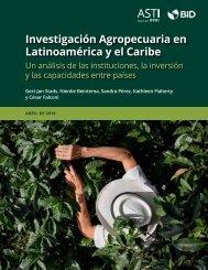 Investigación Agropecuaria en Latinoamérica y el Caribe