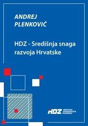 HDZ - Središnja snaga razvoja Hrvatske