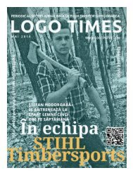 #30 LOGO TIMES mai 2016