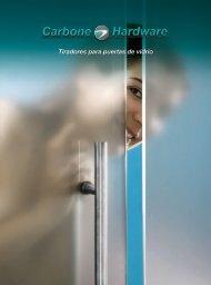 Catálogo Tiradores Para Puertas de Vidrio