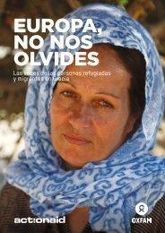 EUROPA NO NOS OLVIDES