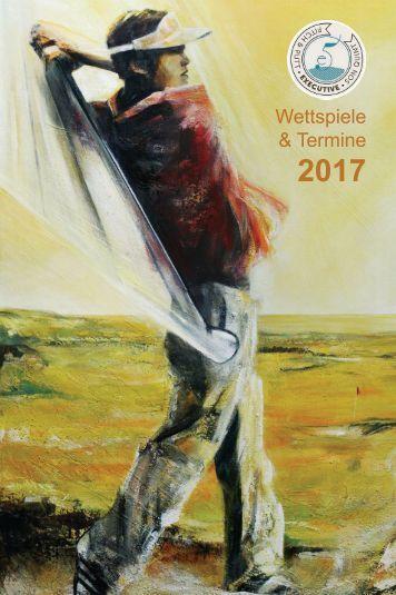 Golf Wettspielkalender 2017 Probeexemplar
