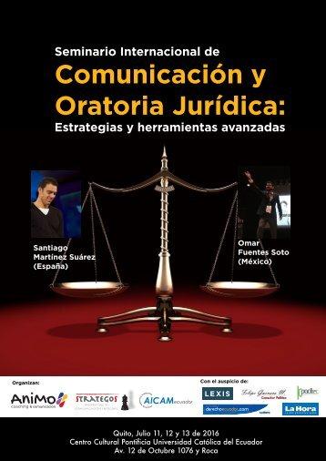 Comunicación y Oratoria Jurídica