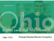 Proposed Standard Revision Comparison