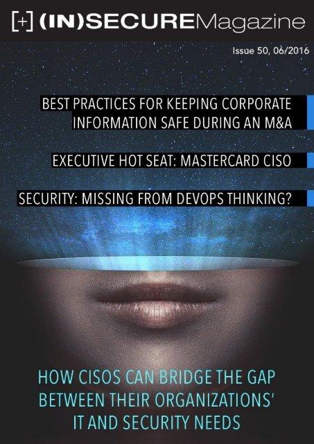 Visit the magazine website at www insecuremag com
