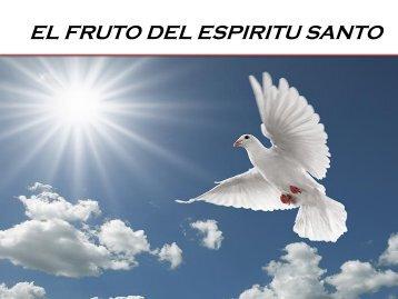 EL FRUTO DEL ESPIRITU SANTO .....CD