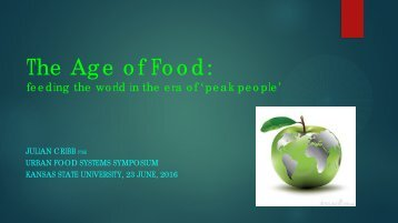The Age of Food