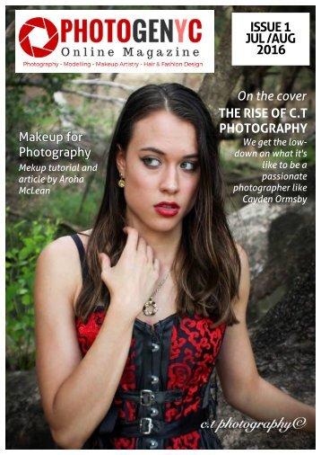 Photogenyc Magazine ISSUE 1 - JULY 2016