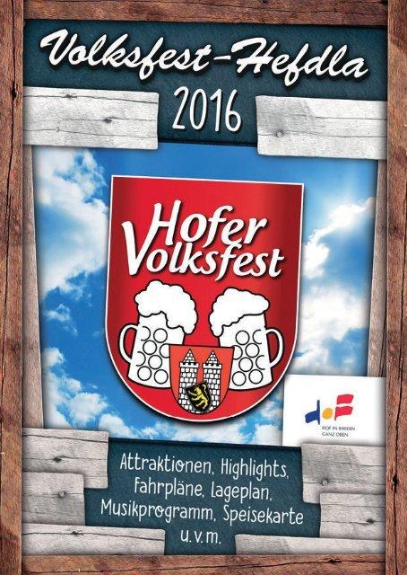 DES VOLKSFEST-HEFDLA 2016