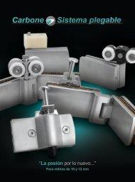 Catálogo Sistema Plegable Carbone