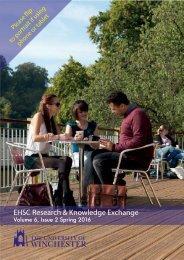 EHSC newsletter #3