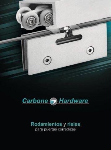 Catálogos Rodamientos para Puertas Corredizas