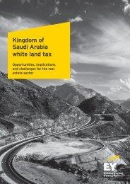 Kingdom of Saudi Arabia white land tax
