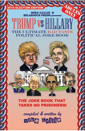 Trump vs Hillary Flip Book