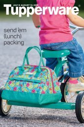 send ̕em (lunch) packing