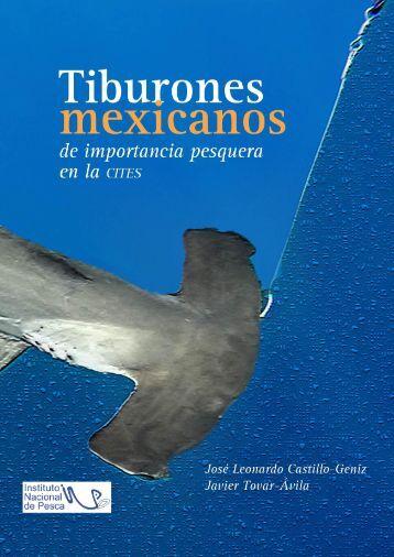 Tiburones mexicanos de importancia pesquera en la