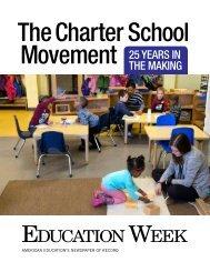 The Charter School Movement