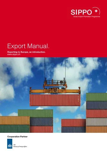 Export Manual. - SIPPO