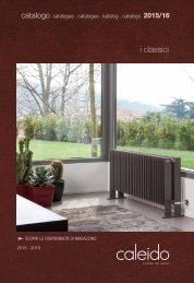 Caleido Classic Radiators Collection by InterDoccia