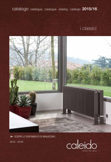 Caleido Classic Radiators Collection by InterDoccia
