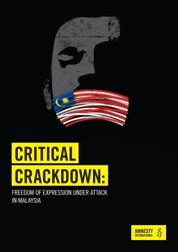 CRITICAL CRACKDOWN
