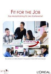 FIT FOR THE JOB  Info-Folder