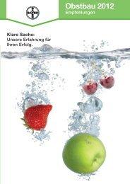Obstbau 2012 - Bayer CropScience Deutschland GmbH - Bayer AG