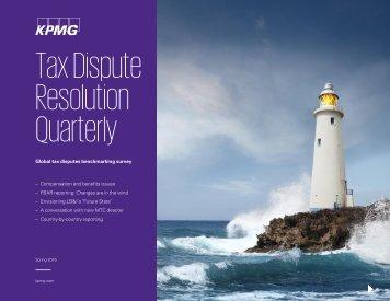 Tax Dispute Resolution Quarterly