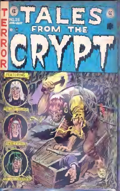 ORIGINAL TALES FROM THE CRYPT EC COMIC 1950S STYLE ART PRINT MATTE FINISH