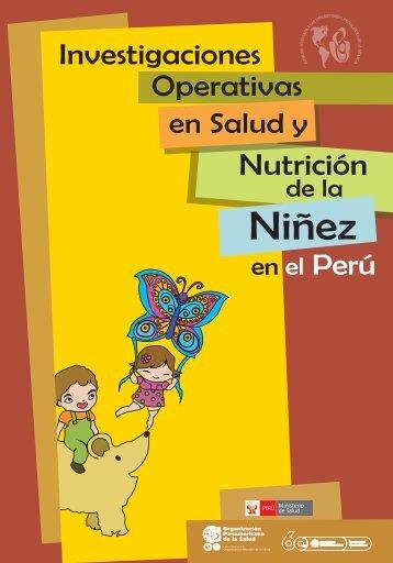 Niñez - BVSDE Desarrollo Sostenible - PAHO/WHO