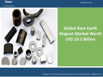 Rare Earth Magnet Market Report 2016-2021