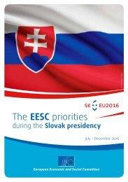 The EESC priorities