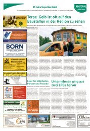 Regional Jubiläum – 25 Jahre Terpe Bau GmbH
