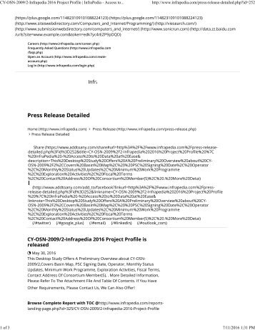 252-Infrapedia 2016 Project Profile _ InfraPedia - Access to Data at Ease