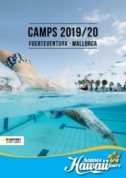 Hannes Hawaii Tours - Trainingscamps 2019/2020
