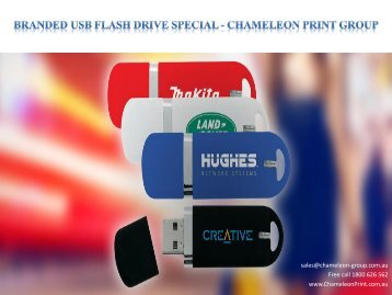Branded USB Flash Drive Special - Chameleon Print Group