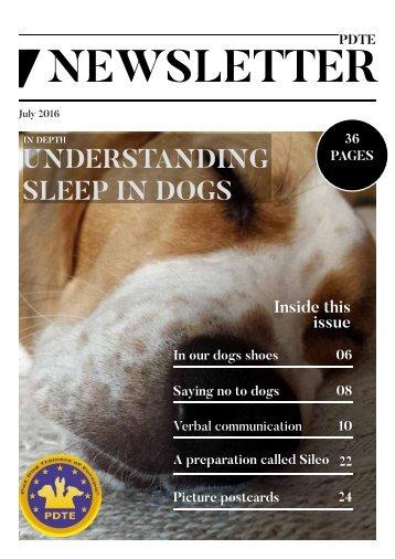 PDTE July 2016 Newsletter