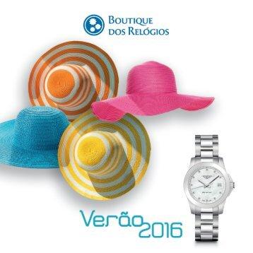 Boutique dos Relógios - Sugestões Verão 2016