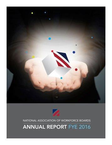 ANNUAL REPORT FYE 2016