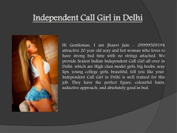 Independent Call Girl in Delhi