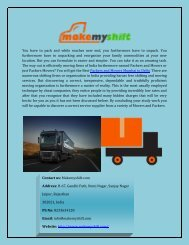 Best Packers And Movers Mumbai To Delhi Online