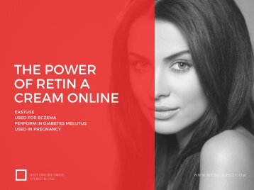 the power of RETIN A CREAM ONLINE