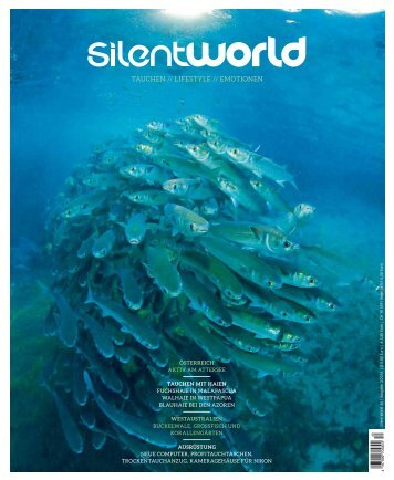 SilentWorld Berich über die Tauchbasis Stechlinsee