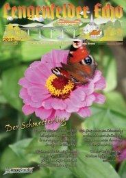 Lengenfelder Echo, Ausgabe August 2010 - Eichsfeld-Archiv des ...