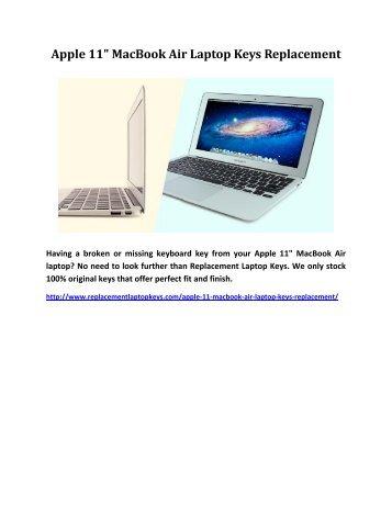 Apple 11 MacBook Air Laptop Keys Replacement